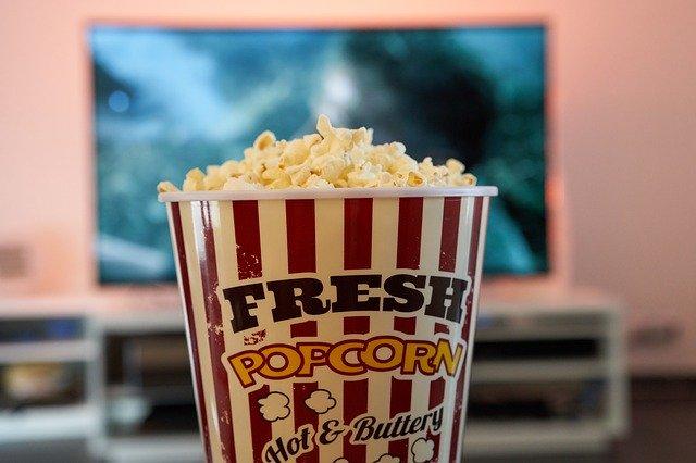 tv i popcorn